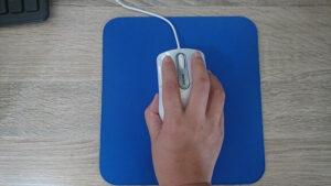 マウスの握り方